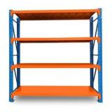 2019 Top grade 5 tier multifunction wooden bamboo warehouse raw material storage rack